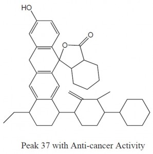 Peak 37 with Anti-Cancer Activity